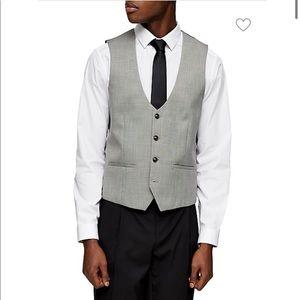 TOPMAN Check Suit Vest/ Waistcoat. NWT.